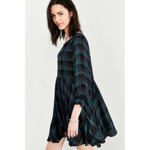 Urban Outfitters Plaid Flannel Dress